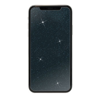 Showtime Glitter Glass Screen Protectors for Apple iPhone 11 Pro, iPhone Xs and iPhone X