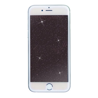 Showtime Glitter Glass Screen Protectors For Apple iPhone 8/7/6s/6 Plus