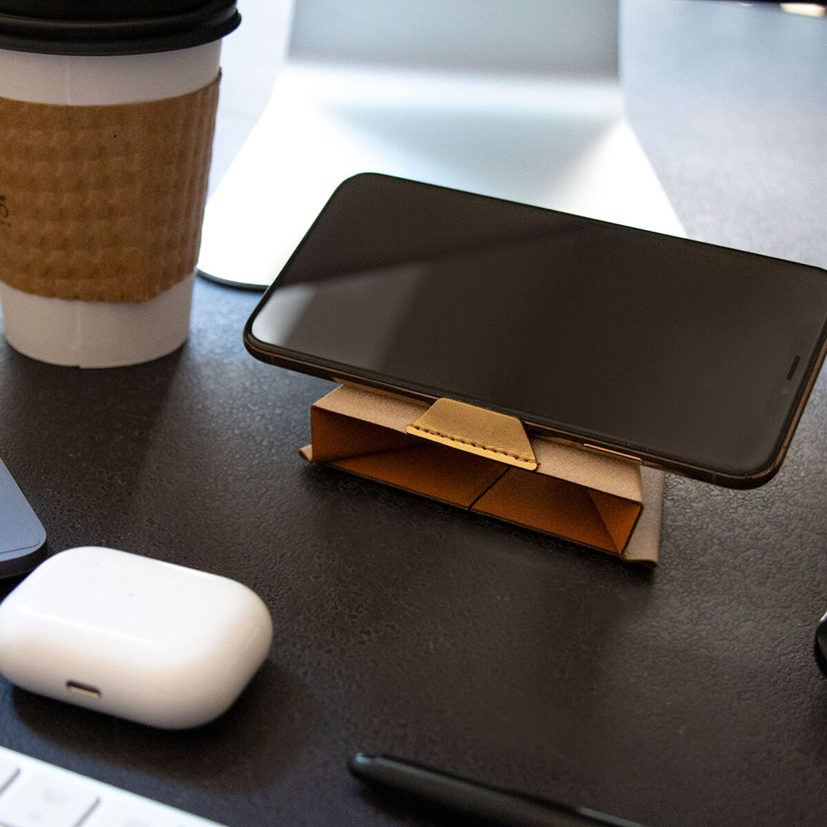 Portable Phone Stand (Black)