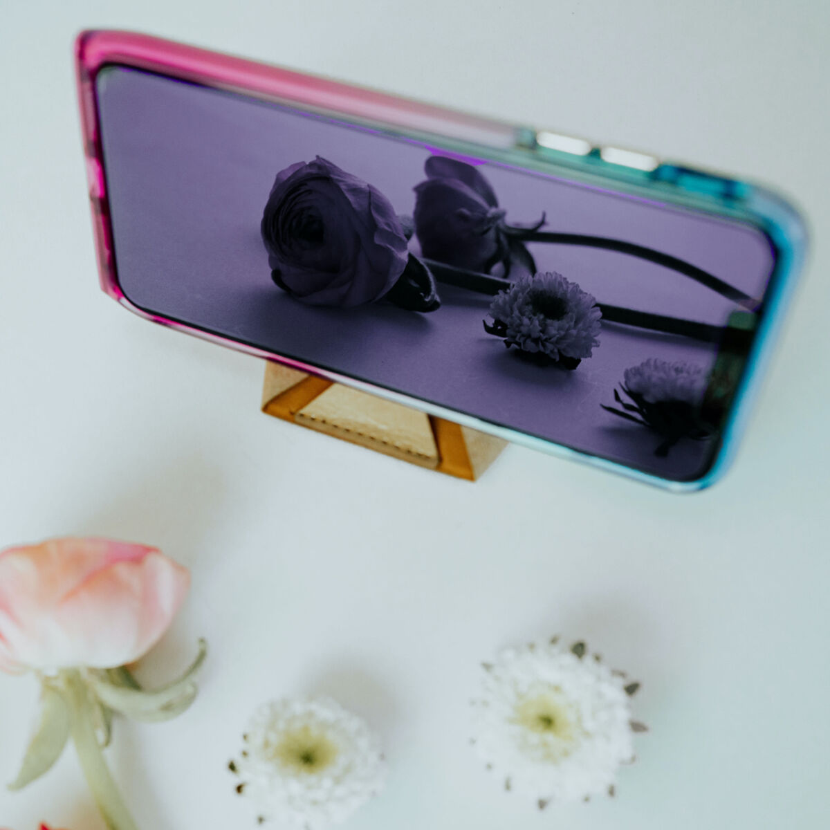 Mirror Glass - Dusk (Blue/Purple) - Apple iPhone 12 Mini