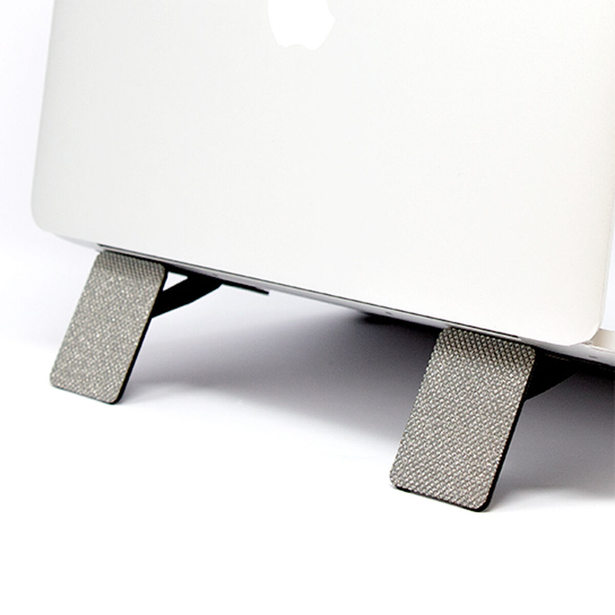 Foldable Lightweight Laptop Stand (Silver Glitter)