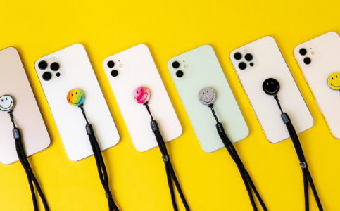 Smiley Zigi Band from MOXYO in six different designs
